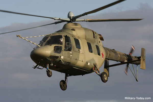 The kazan ansat is a multi purpose helicopter that can suit many roles